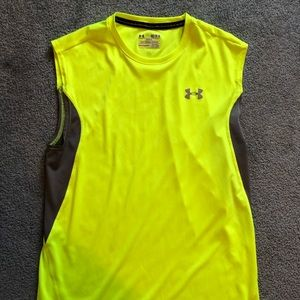 Under armor sleeveless shirt